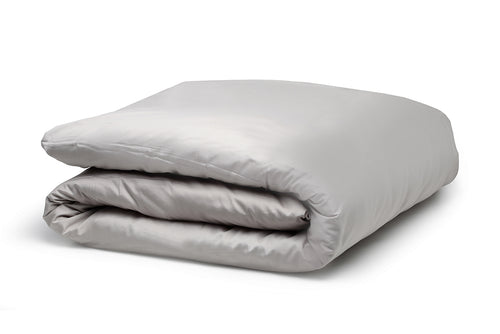 Organic Duvet Cover Pewter – 100% Natural Cotton