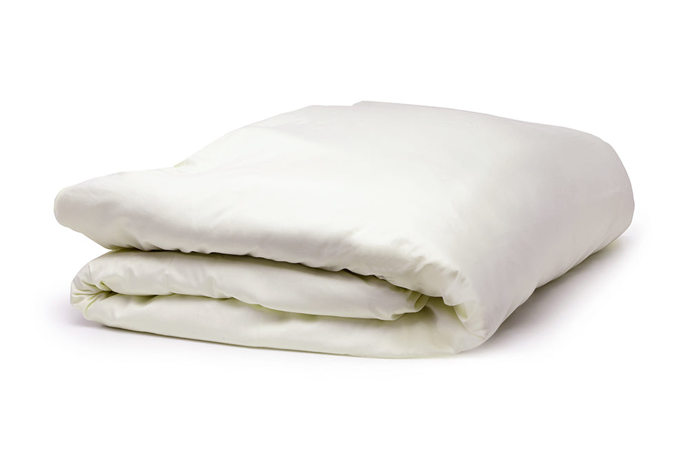 Organic Cotton Duvet Cover in Natural