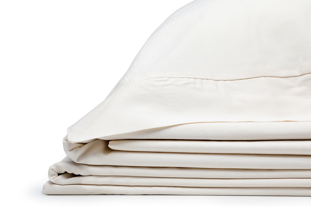 Organic Oxford Pillowcase Natural – 100% Natural Cotton