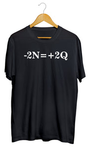 T-shirt  humour équation mathématique peace and love So Custom T-shirt marrant