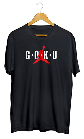 T-shirt Air Goku DBZ dragon ball son goku air jordan  So custom