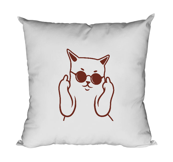 Coussin Bad cat badass chat fuck So Custom