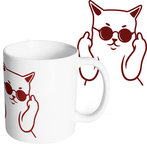 Mug chat mug magique chat badass fuck bad cat So Custom