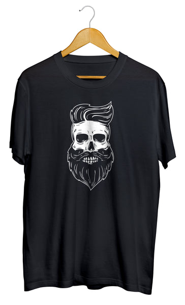 T-shirt original barbe squelette Hipster So Custom