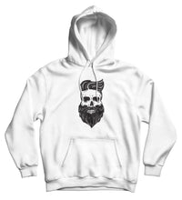 Sweat capuche original barbe squelette Hipster So Custom