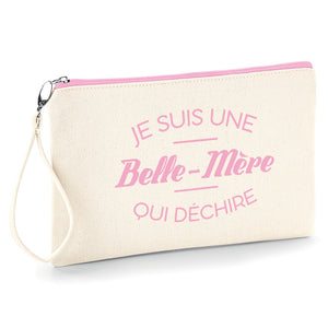 Pochette trousse belle mère qui déchire belle maman So Custom