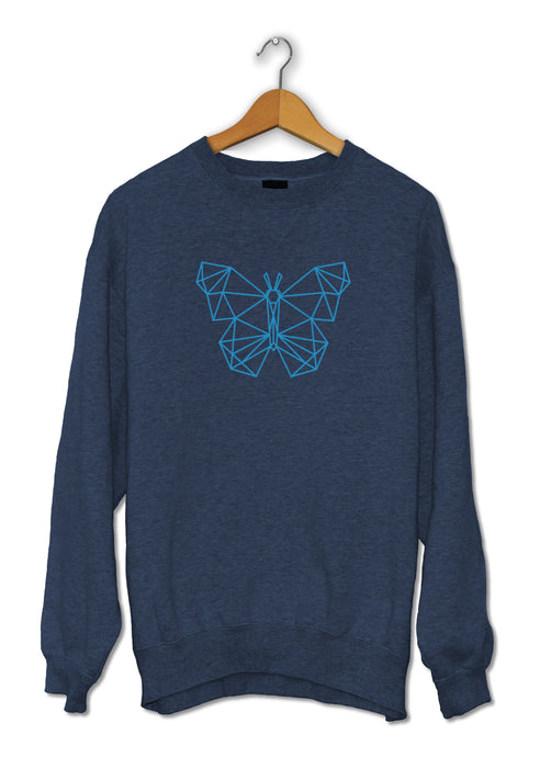 Sweat original papillon low poly So Custom