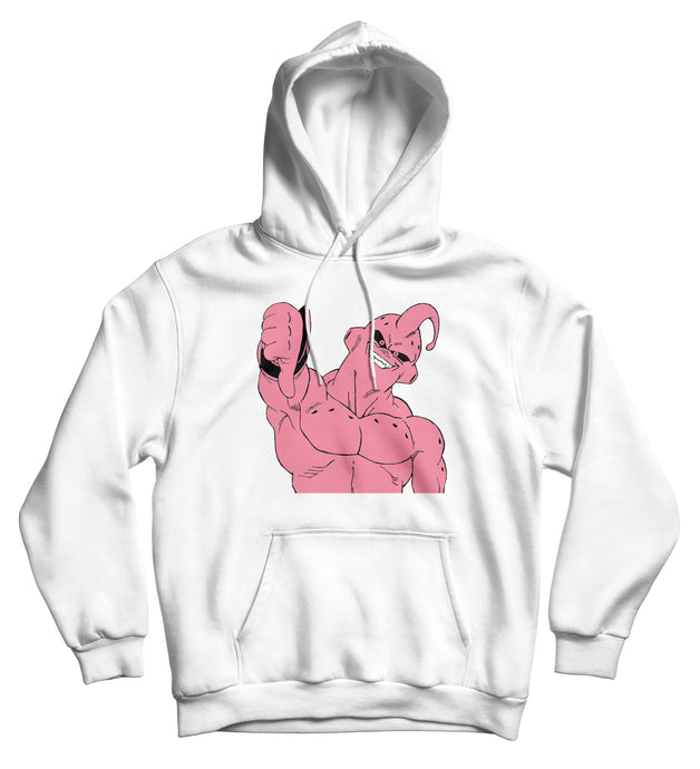 Sweat capuche boo buu Majin Buu dragon ball DBZ  So custom