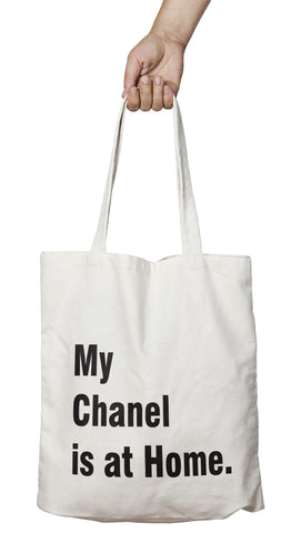 Tote bag original Chanel at Home So Custom