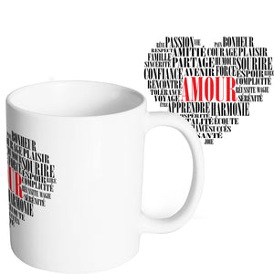 Mug original Coeur Amour So Custom