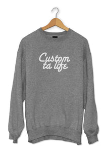 Sweat original cool motivation So Custom Custom ta life