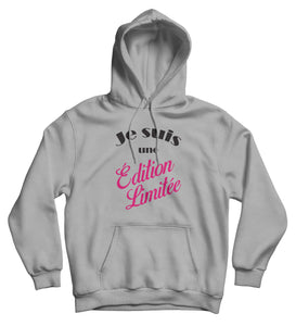 Sweat capuche humour femme  So Custom sweat marrant