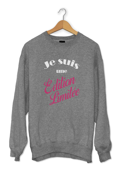 sweat original édition limitée femme So Custom