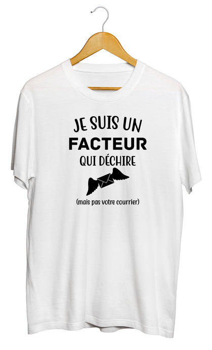 T-shirt facteur poste postier courrier timbre