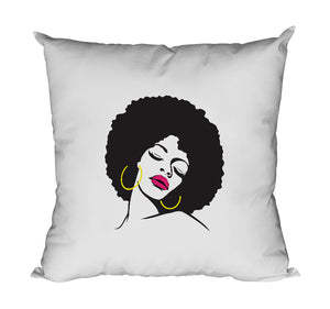 Coussin Afro original femme africaine So Custom