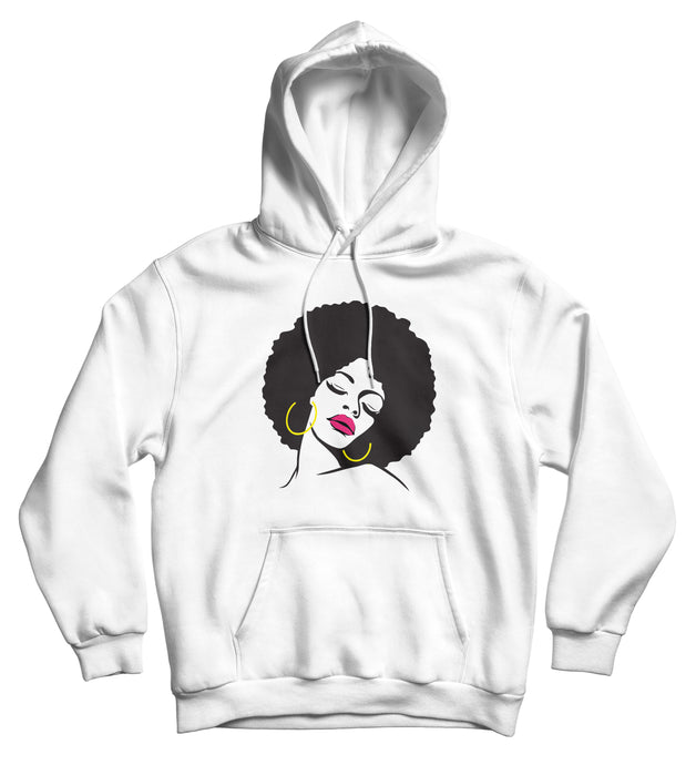Sweat capuche Afro original femme africaine So Custom