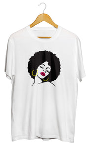 T-shirt Afro original femme africaine So Custom