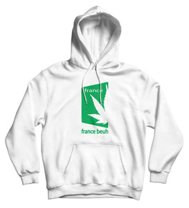 Sweat capuche humour france beuh cannabis chanvre cbd So custom