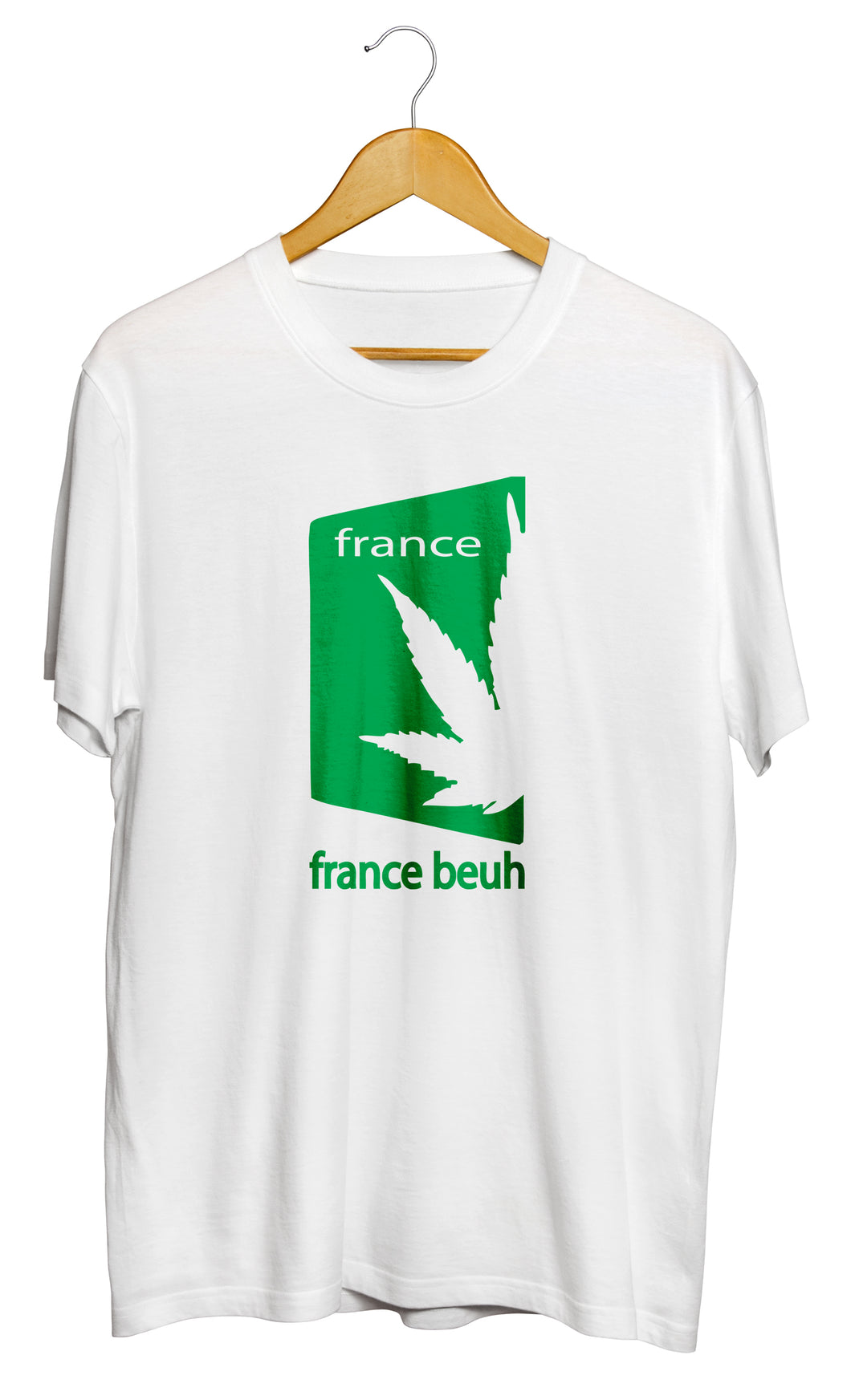 T-shirt humour france beuh cannabis chanvre cbd So custom