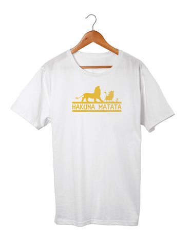 T-shirt enfant original hakuna matata roi lion So Custom