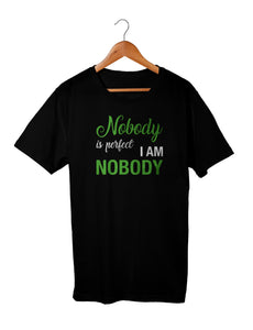 T-shirt enfant garçon Nobody parfait perfection So Custom