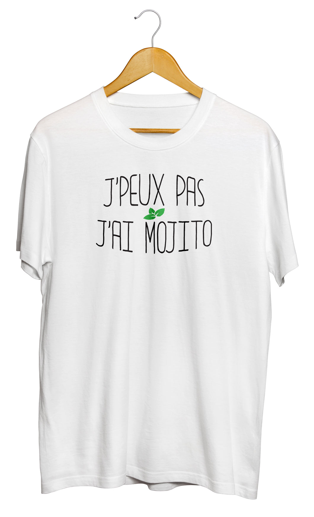 T-shirt original j'peux pas j'ai Mojito boisson alcool cocktail So Custom