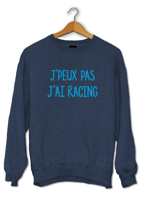 Sweat original j'peux pas j'ai Racing club de Strasbourg RCS stade de la Meinau So Custom