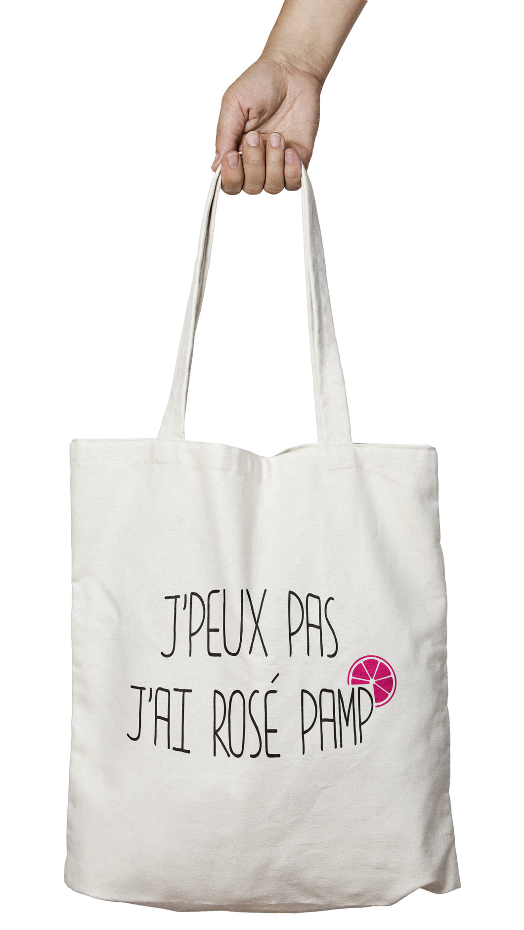 Tote bag original j'peux pas j'ai Rosé pamp' boisson alcool cocktail So Custom