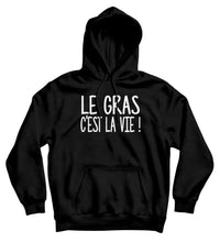 Sweat capuche original Kaamelott le gras c'est la vie humour So Custom