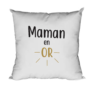 Coussin maman en or mère So Custom