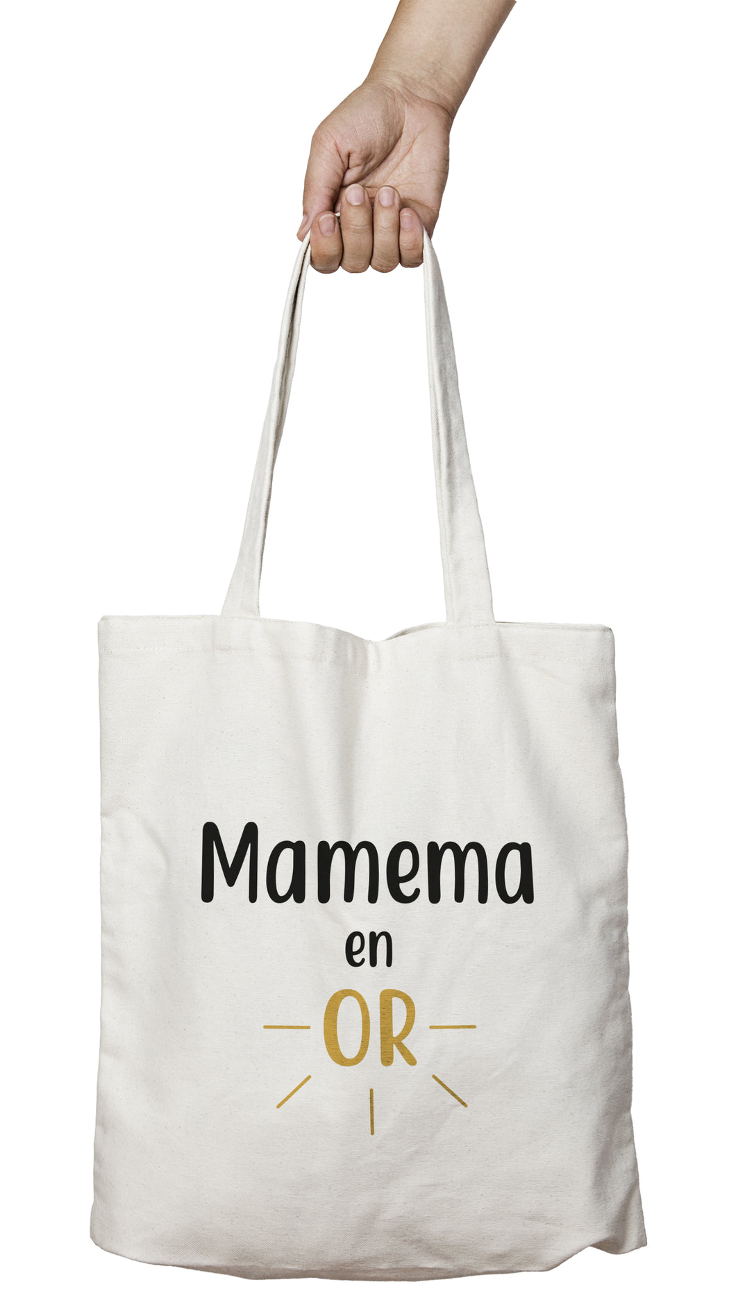 tote bag mamie, mamy en or grand-mère en or So Custom