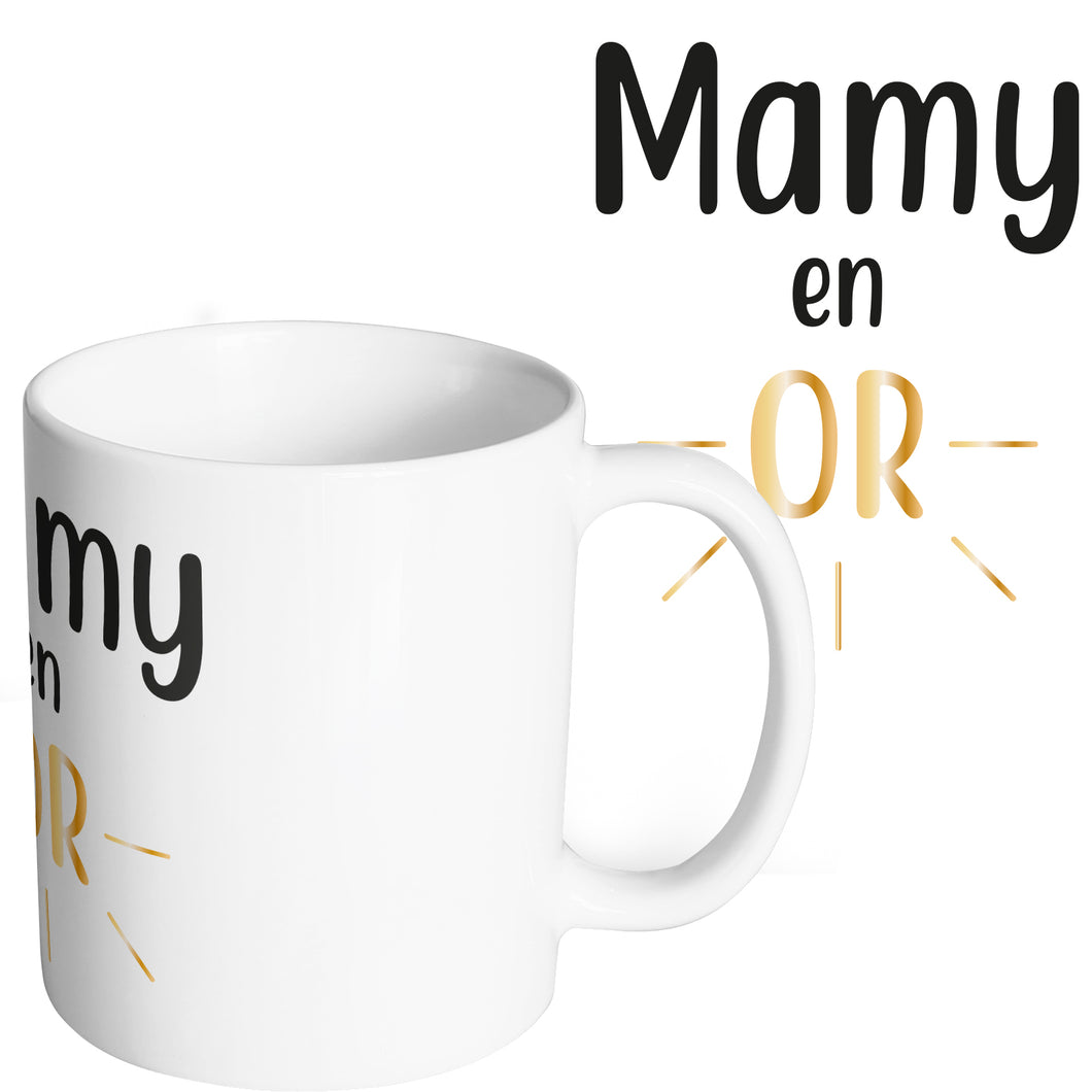 Mug original mamie en or grand mère mamy So custom