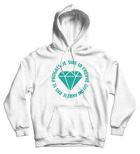 Sweat capuche original femme diamant  So Custom sweat