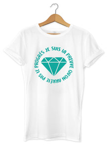 T-shirt original femme diamant  So Custom sweat