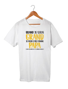 T-shirt enfant original marrant papa So Custom