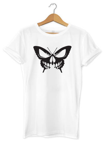 T-shirt original papillon tête de mort  So Custom