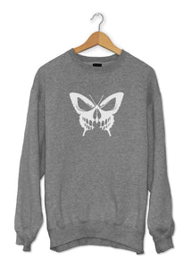 Sweat original papillon tête de mort  So Custom