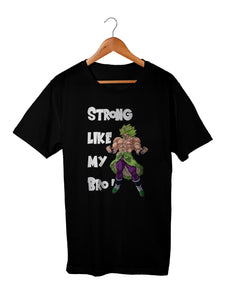T-shirt Like my Bro tee shirt Broly t shirt enfant dragon ball dragon ball super dragon ball super Broly