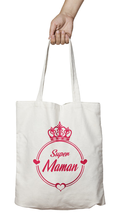 Tote bag authentique super maman So Custom