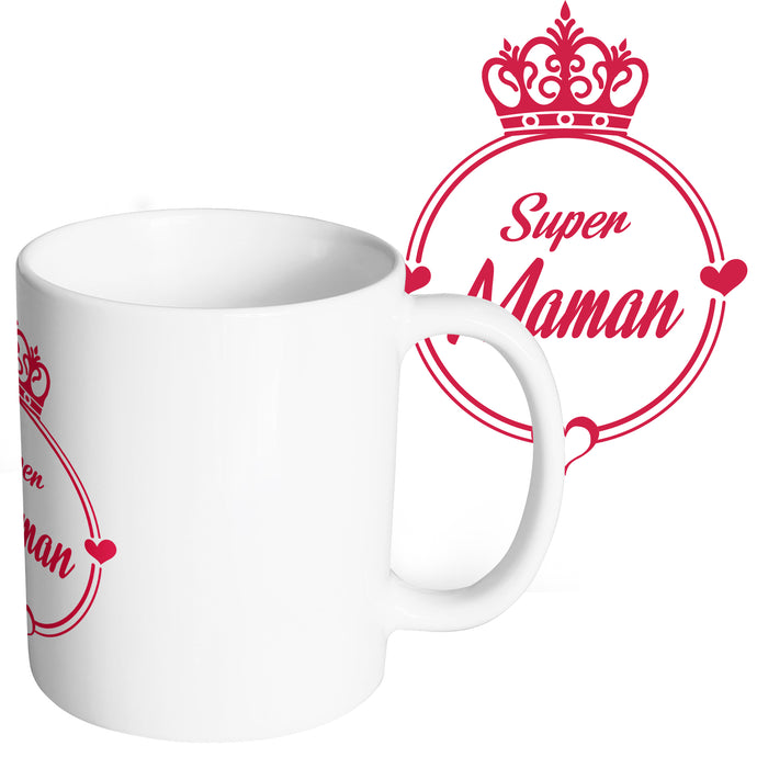 Mug super maman mère So Custom