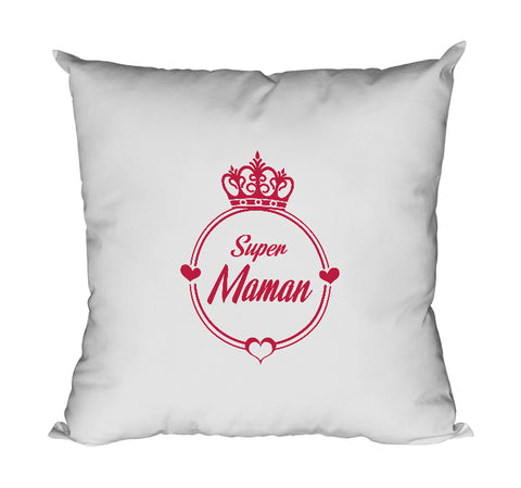 Coussin super maman mère famille So Custom