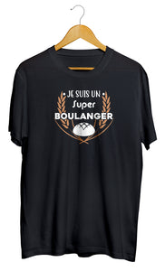 T-shirt boulanger boulangerie pain croissant So Custom