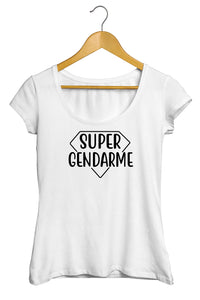 "T-shirt ""Super Gendarme"""
