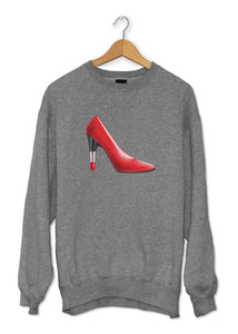sweat original femme rouge à lèvres talons So Custom