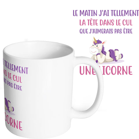 Mug marrant et original Licorne So Custom