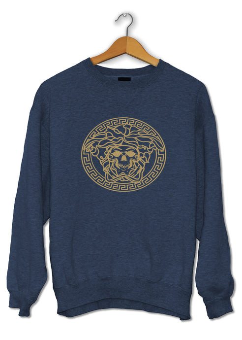 Sweat humour détournement logo Versace So Custom