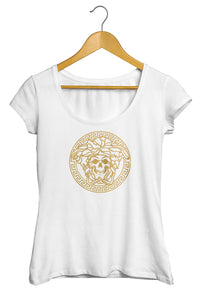 T-shirt humour détournement logo Versace So Custom