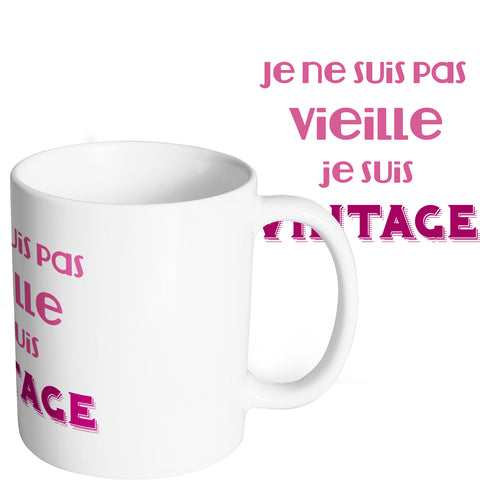 Mug marrant et original vieille vintage mamie mamy So Custom