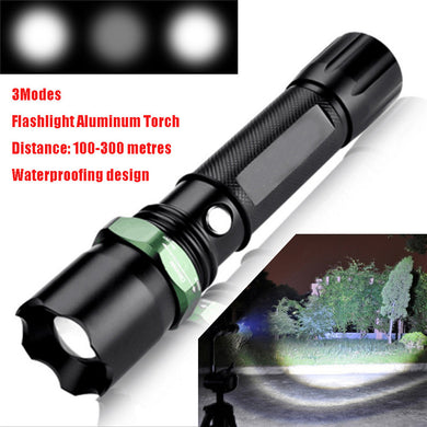 Tactical Police LED Flashlight