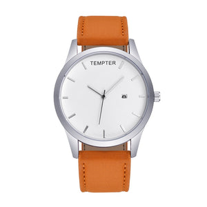 Tan strap with white background